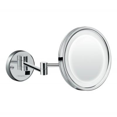 Зеркало косметическое Hansgrohe Logis Universal 73560000 с LED подсветкой