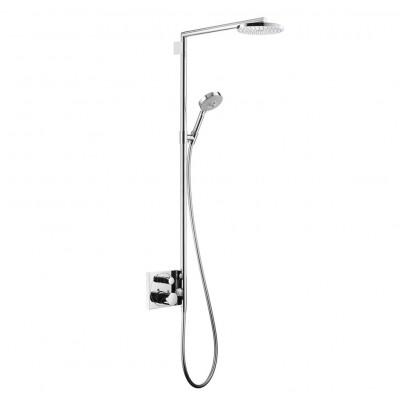 Душевая система Hansgrohe Showerpipe EcoSmart 27192000 180 мм