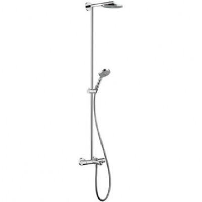 Душевая система Hansgrohe Showerpipe EcoSmart 27141000 180 мм
