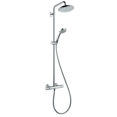 Душевая система Hansgrohe Croma 220 Showerpipe 27185000 220 мм