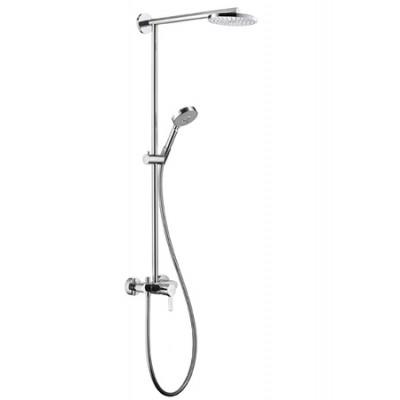 Душевая система Hansgrohe Raindance Showerpipe EcoSmart 27191000 180 мм