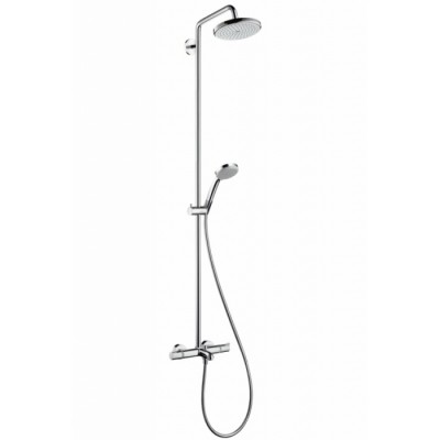 Душевая система Hansgrohe Croma 220 Showerpipe 27223000 220 мм