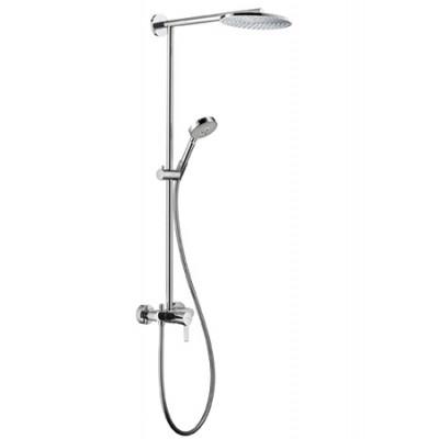 Душевая система Hansgrohe Raindance Showerpipe EcoSmart 27193000 240 мм