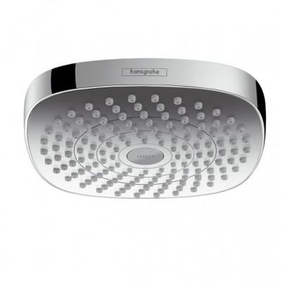 Верхний душ Hansgrohe Croma Select E 2jet 26524400 180 мм хром/белый