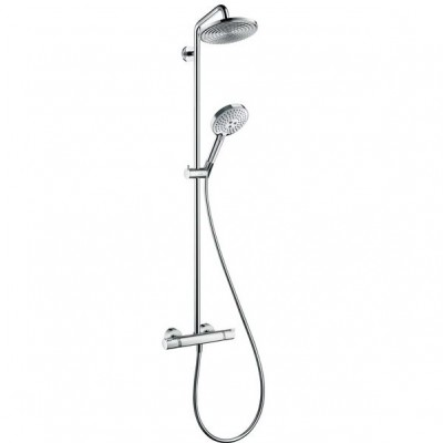 Душевая система Hansgrohe Raindance Select Showerpipe 27115000 240 мм