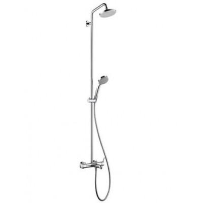 Душевая система Hansgrohe Croma 100 Showerpipe 27201000 160 мм