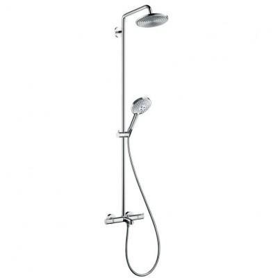 Душевая система Hansgrohe Raindance Showerpipe 27117000 240 мм