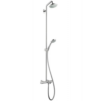 Душевая система Hansgrohe Croma 100 Showerpipe 27143000 160 мм