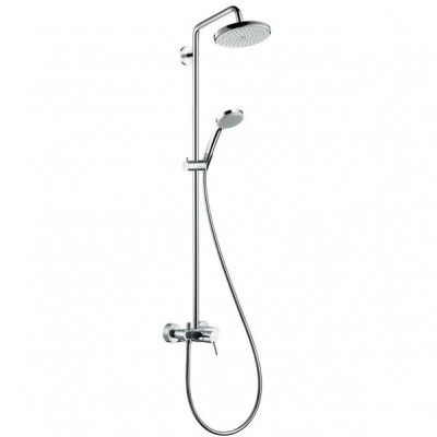 Душевая система Hansgrohe Croma 220 Showerpipe 27222000 220 мм