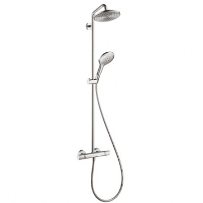 Душевая система Hansgrohe Raindance Select Showerpipe 27116000 240 мм