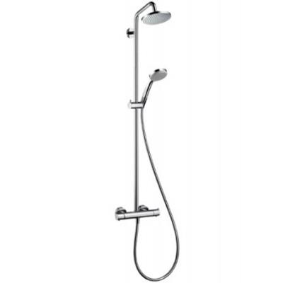 Душевая система Hansgrohe Croma 100 Showerpipe 27169000 160 мм
