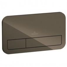 Смывная клавиша Villeroy & Boch ViConnect 922400RT стекло Терра