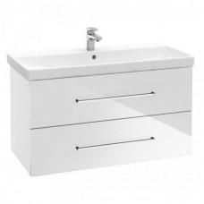 Тумба для ванной Villeroy & Boch Avento A89200B4 100 см Crystal White