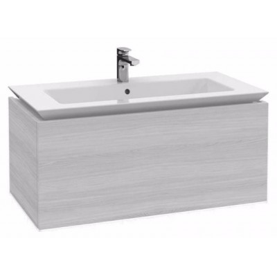 Тумба для ванной Villeroy & Boch Legato B222L0E8 white wood 100 см с раковиной