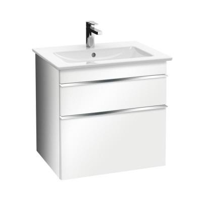 Тумба для ванной Villeroy & Boch Venticello A92301DH 60 см белый глянцевый с раковиной