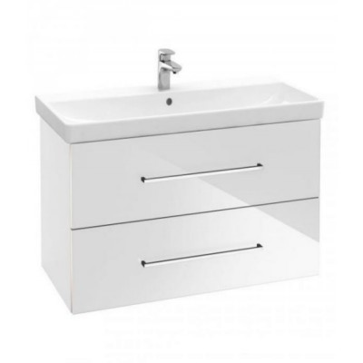 Тумба для ванной Villeroy & Boch Avento A89100B4 80 см Crystal White