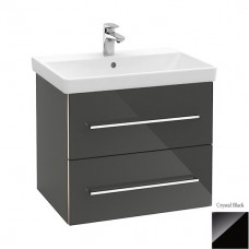 Тумба для ванной Villeroy & Boch Avento A88900B3 60 см Crystal Black