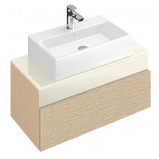 Тумба для ванной Villeroy & Boch Memento C780M0FC Bright Oak 80 см