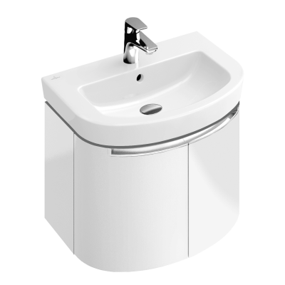 Тумба для ванной Villeroy & Boch Subway 2.0 A69410DH белый глянцевый 60 см