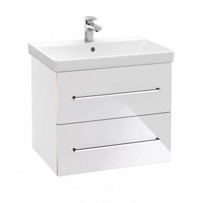 Тумба для ванной Villeroy & Boch Avento A89000B4 65 см Crystal White