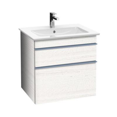 Тумба для ванной Villeroy & Boch Venticello A92304E8 60 см White Wood с раковиной