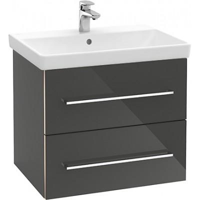 Тумба для ванной Villeroy & Boch Avento A89000B1 65 см Crystal Grey