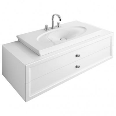 Тумба для ванной Villeroy & Boch La Belle A58310DJ белый 135 см с раковиной