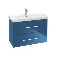 Тумба для ванной Villeroy & Boch Avento A88900B2 60 см Crystal Blue с раковиной