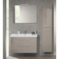 Тумба для ванной Villeroy & Boch 2Day2 A98000E6 Glossy Taupe 80 см с раковиной