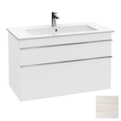 Тумба для ванной Villeroy & Boch Venticello A92604E8 100 см White Wood с раковиной
