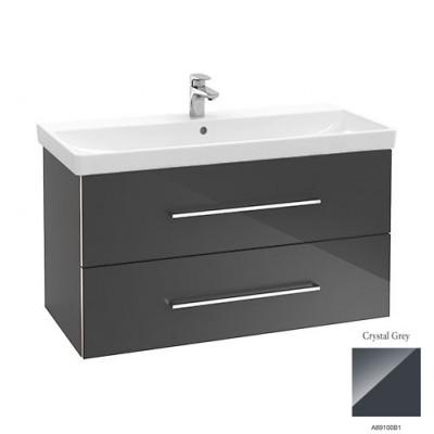Тумба для ванной Villeroy & Boch Avento A89200B1 100 см Crystal Grey