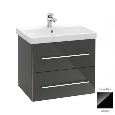 Тумба для ванной Villeroy & Boch Avento A89000B3 65 см Crystal Black