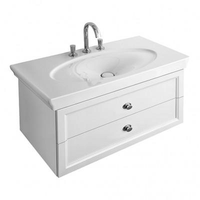 Тумба для ванной Villeroy & Boch La Belle A58410DJ белый 100 см с раковиной