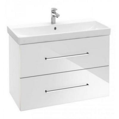 Тумба для ванной Villeroy & Boch Avento A88900B4 60 см Crystal White с раковиной