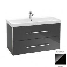 Тумба для ванной Villeroy & Boch Avento A89200B3 100 см Crystal Black