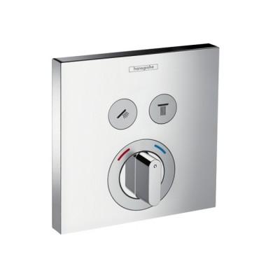 Смеситель для ванны Hansgrohe ShowerSelect 15768000 скрытого монтажа