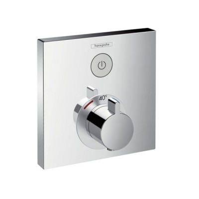 Термостат для душа Hansgrohe ShowerSelect 15762000 скрытого монтажа