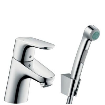 Смеситель для раковины Hansgrohe Focus E2 31926000 с гигиеническим душем