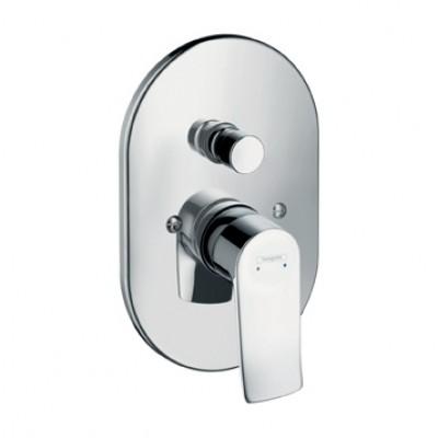 Смеситель для ванны Hansgrohe Metris 31484000 скрытого монтажа