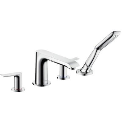 Смеситель для ванны Hansgrohe Metris 31442000 на борт ванной