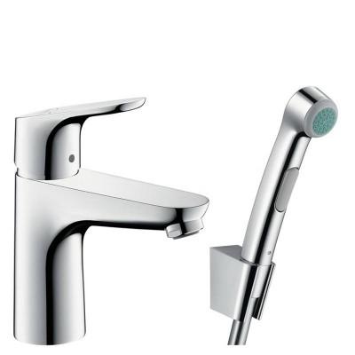 Смеситель для раковины Hansgrohe Focus E2 31927000 с гигиеническим душем