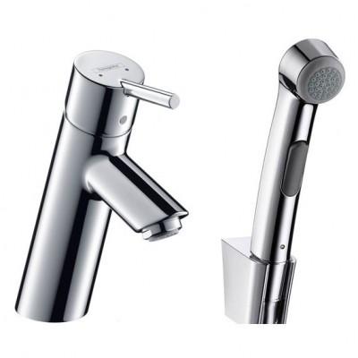 Смеситель для раковины Hansgrohe Talis S2 32140000 с гигиеническим душем