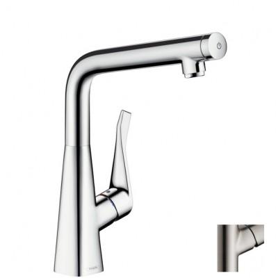 Смеситель для кухни Hansgrohe Metris Select 14883800 сталь
