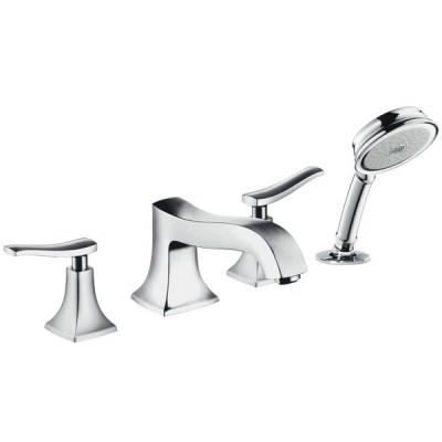Смеситель для ванны Hansgrohe Metris Classic 31314000 на борт ванной