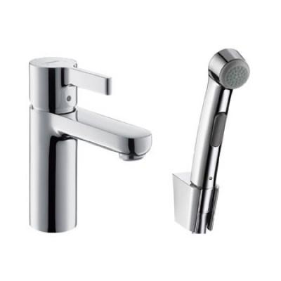 Смеситель для раковины Hansgrohe Metris S 31160000 с гигиеническим душем