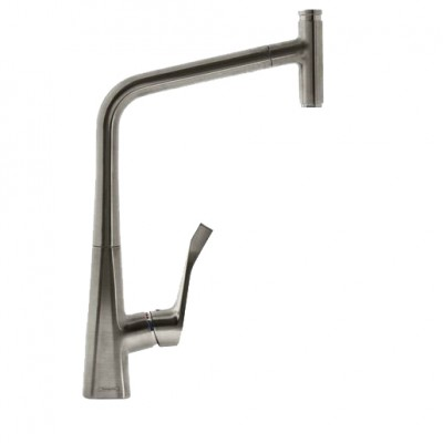 Смеситель для кухни Hansgrohe Metris Select 14884800 сталь