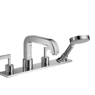 Смеситель для ванны Hansgrohe Axor Citterio 39444 на 4 отверстия