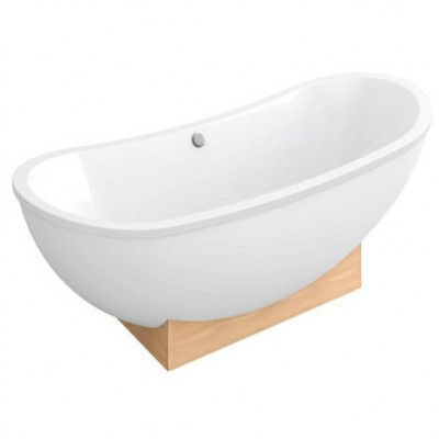 Акриловая ванна Villeroy & Boch My Nature BA190NAT9E0V-01 190x80 см консоль вяз