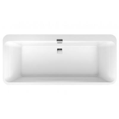 Квариловая ванна Villeroy & Boch Squaro Edge 12 UBQ180SQE7DV-01 180x80 см с ножками
